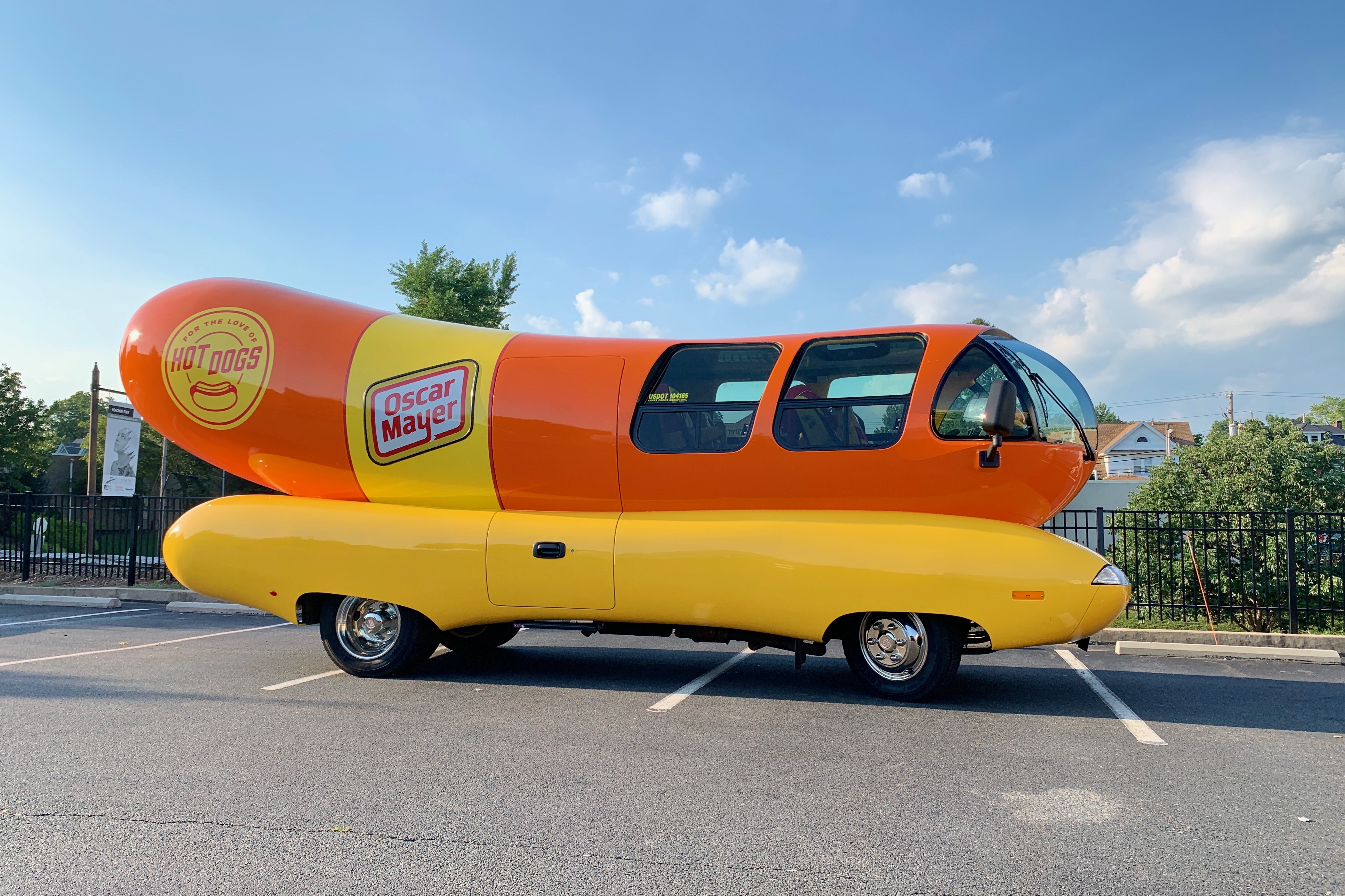 Andi and Kenny  - The Oscar Mayer Wienermobile is Coming to Berks Count