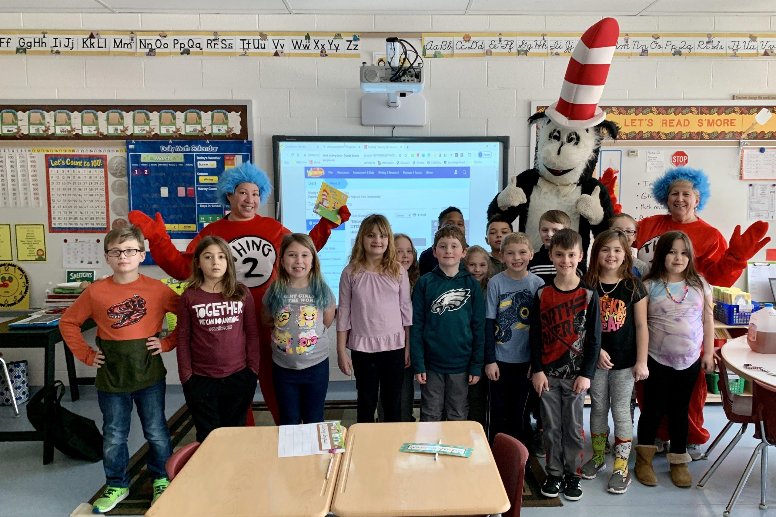 Local schools celebrate Dr. Seuss's birthday
